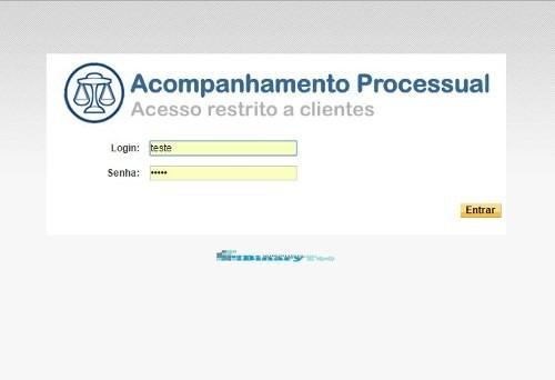 script php. controle de processos online. atualização 2018