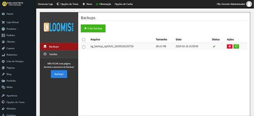 script php criador de sites e loja virtual com temas prontos