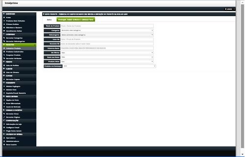 script php loja virtual fluxshop 1.7 responsivo