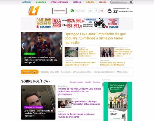 script php portal de notícias 2015 site de notícias