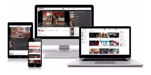 script php portal de vídeo phpvibe versão 6