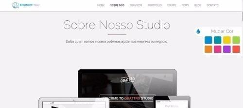 script php quattro site + blog + adm 2016 facil instalação