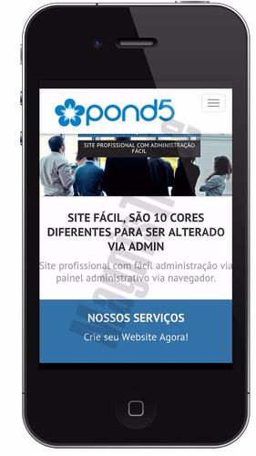script php site institucional empresas comercio design admin