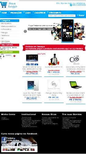 script php site loja virtual responsivo pagseguro e correios