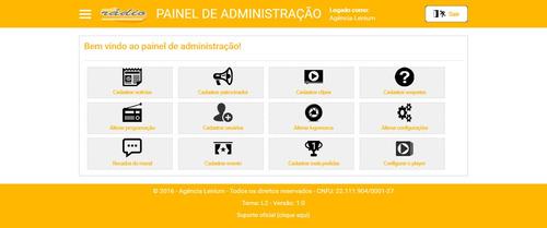 script php web rádio responsivo 2016 - promoção na descrição