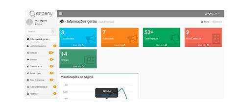 script portal de notícia php, 100% responsivo + atualizações