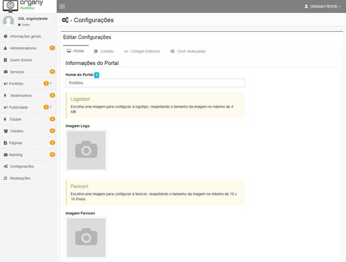 script portifólio php, 100% responsivo + atualizações + adm