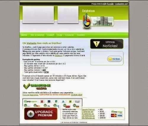 script ptc bux em português verde + instalação