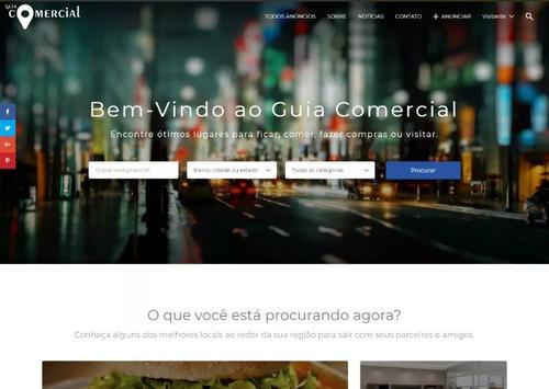 script site guia comercial 2018 responsivo profissional