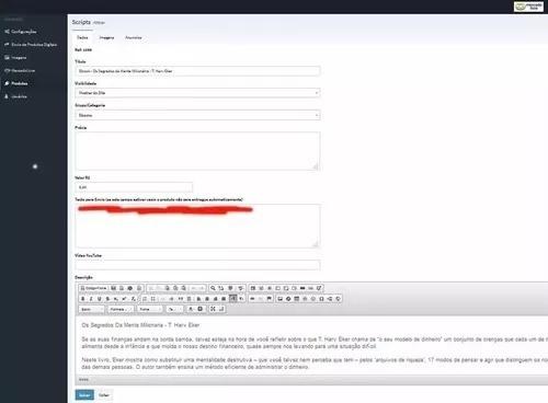scriptphp entrega automática produtos digitais mercadolivre