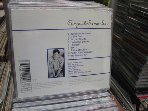 scritti politti songs to remember cd nuevo importado synth p
