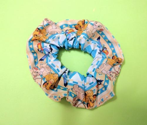 scrunchies de disney rey leon 101 dalamatas blancanieves