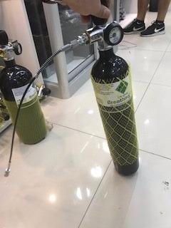scuba 3 litros  pcp+ manguera de conexion. oferta unica!!!