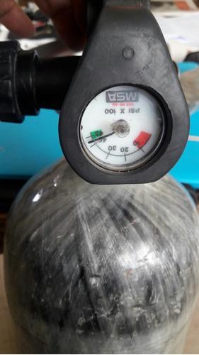 scuba pcp fibra de carbo 4,8 lts 300bares 4500psi