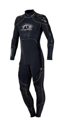 scubapro mens everflex steamer 3-2mm wetsuit (negro, medio)