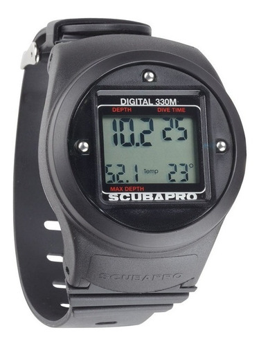 scubapro profundimetro digital depht meter 330m novo zero