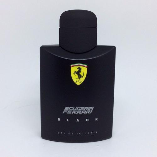 scuderia ferrari black 125ml | original + amostra de brinde