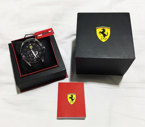 scuderia ferrari - sf.11.1.34.0043 -men's watch - super raro