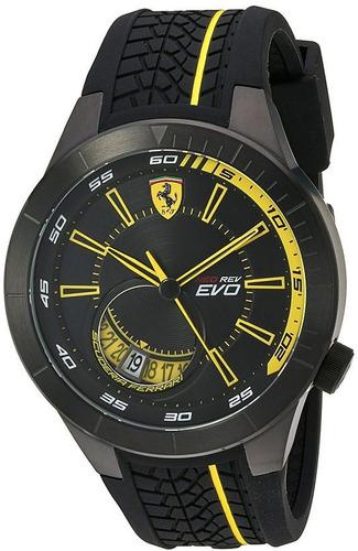 scuderia ferrari silicona banda reloj de men 830340