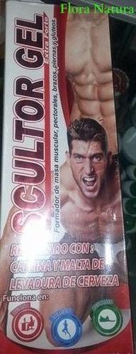 scultor gel para masa muscular 3 x s/90