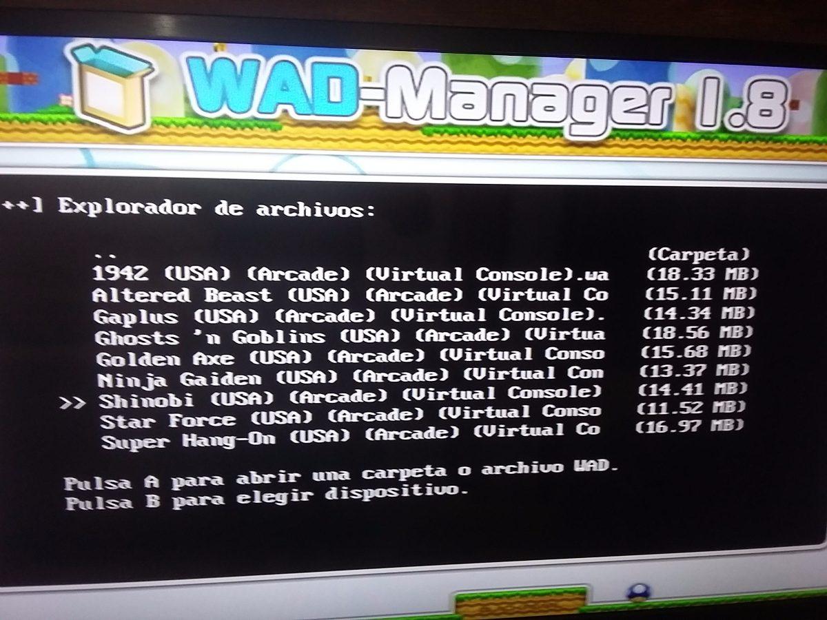 Wii Vc Wads