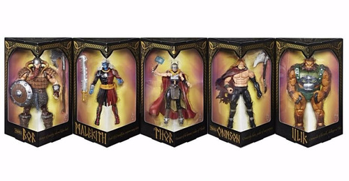 sdcc 2017 marvel legends 5 pack the mighty thor exclusivo