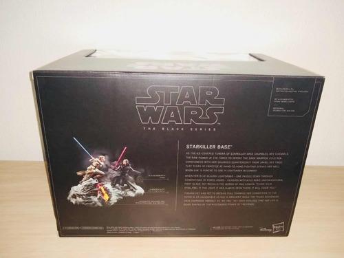 sdcc 2018 star wars black centerpiece starkiller base rey