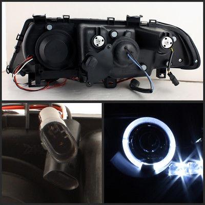 Se Adapta A 00 03 Bmw E46 3 Series 2dr Jdm Negro Proyector