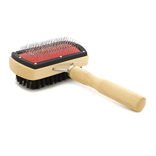 Pet Grooming Impermeable//Cepillo de doble cara