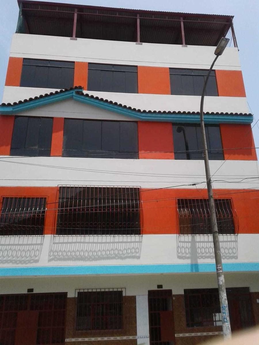 se alquila casa de 5 pisos, ideal para colegio o academia