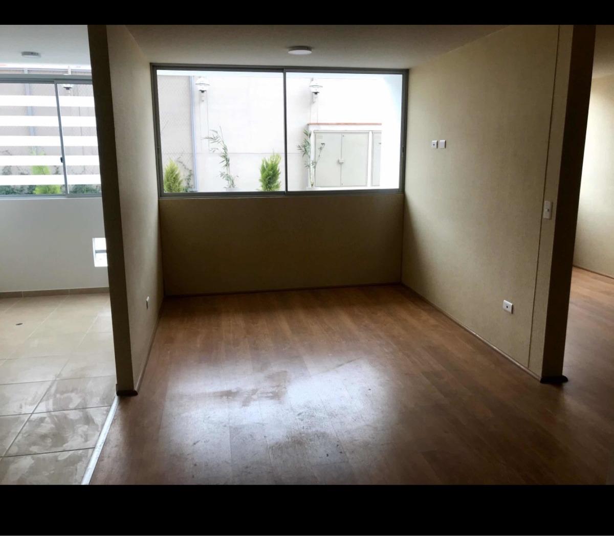 se alquila departamento con dos dormitorios y dos baños