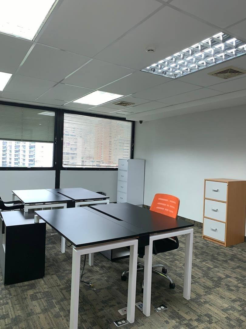 se alquila espectacular oficina 125 mts2 en bello monte
