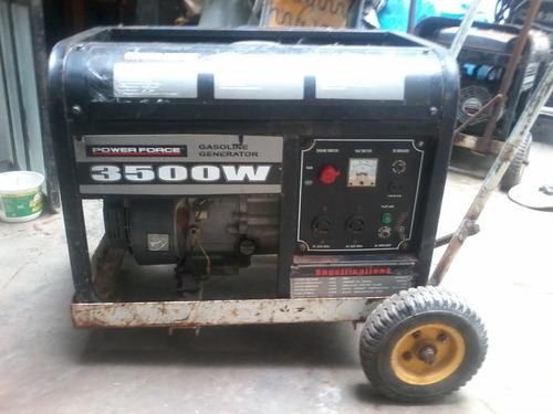 se alquila generador eléctrico de 3500w