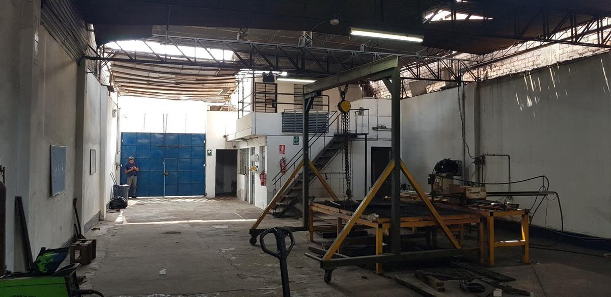 se alquila local industrial, excelente ubicación