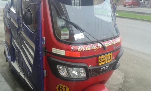 se alquila moto taxi tvs king  con linea 35 soles diarios