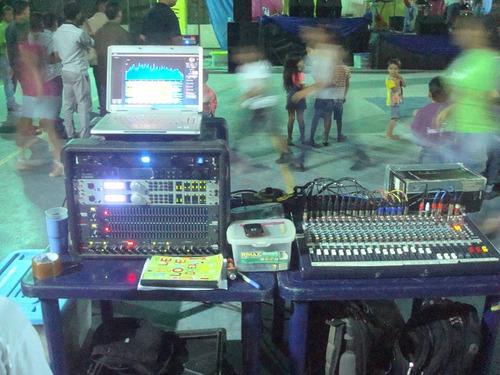 se alquila sonido profesional para grupos y bandas en vivo