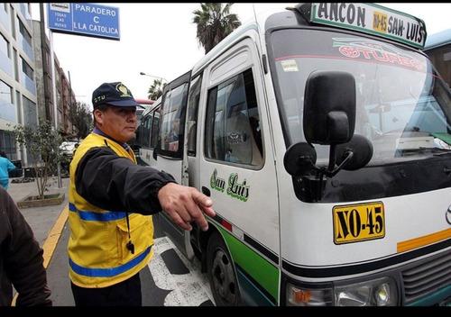 se anula papeletas de tránsito y actas de control
