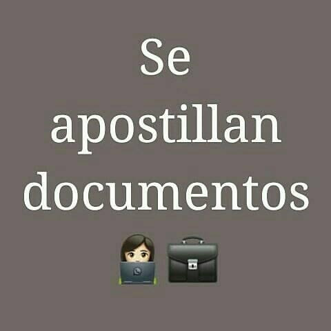se apostillan documentos