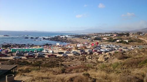 se arrienda casa en la playa la ballena con vista al mar