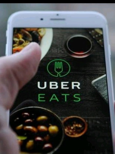 se busca chofer para manejar motocicleta para uber eats