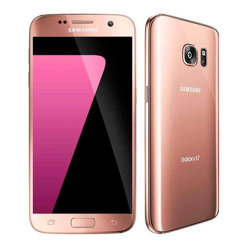 s/e celular samsung galaxy s7 32gb nuevo sellado rosa oro