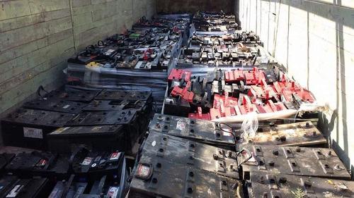 se compran baterías usadas x pieza o kilo