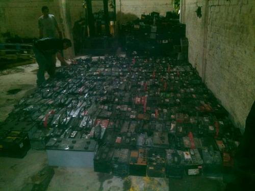 se compran todo tipo de baterías usadas