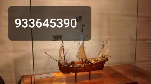 se construyen barcos de madera a escala