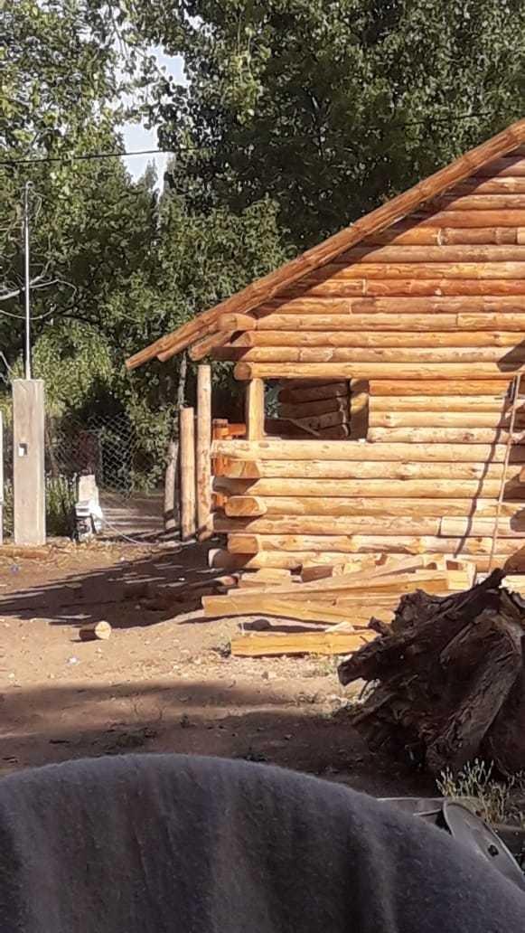 se contruyen cabañas de tronco...pide la tuya!!! .
