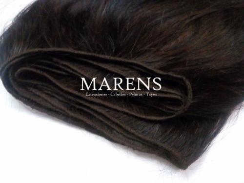 se cosen o hacemos extensiones de cabello en cortina