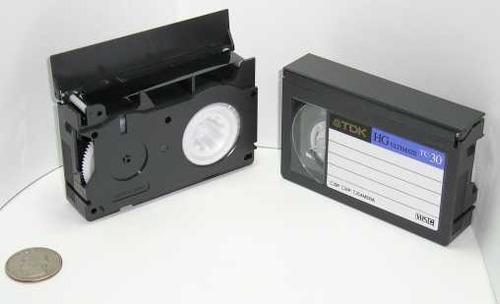 se digitalizan sus videos de vhs y  vhs-c