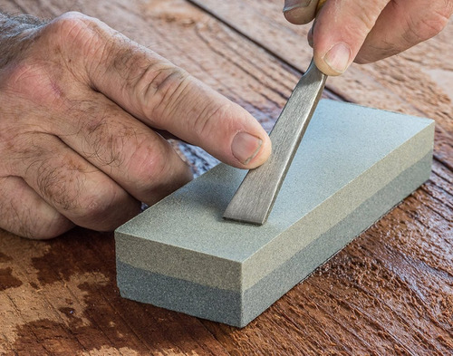 se es6 doble grit piedra de afilar (grano 120 y 240), 6