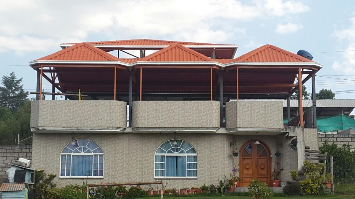 Estructuras metalicas para viviendas best construir con for Cubiertas para casas