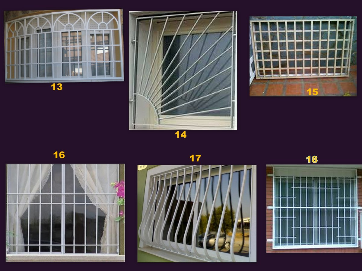 Modelos de rejas top precio desde uac with modelos de for Ventanas modelos